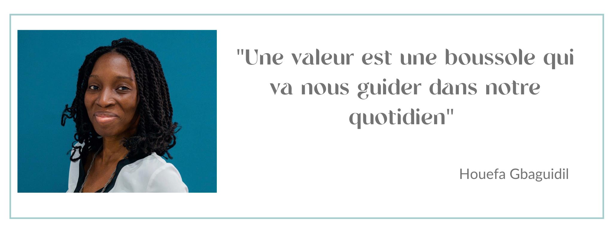 Construire un projet professionnel aligné avec ses valeurs avec Houefa Gbaguidi